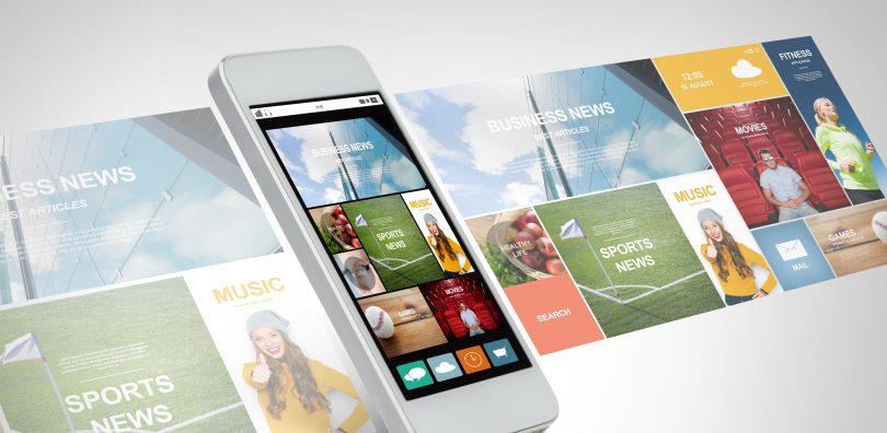 Digital news on mobile