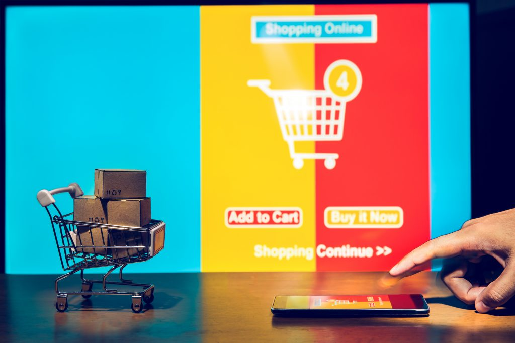 Online shopping through video