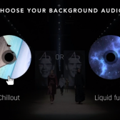 Branching multiple audio as choices for the viewer